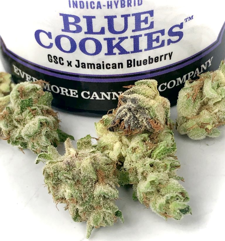 Evermore Cannabis Company strain Blue Cookies