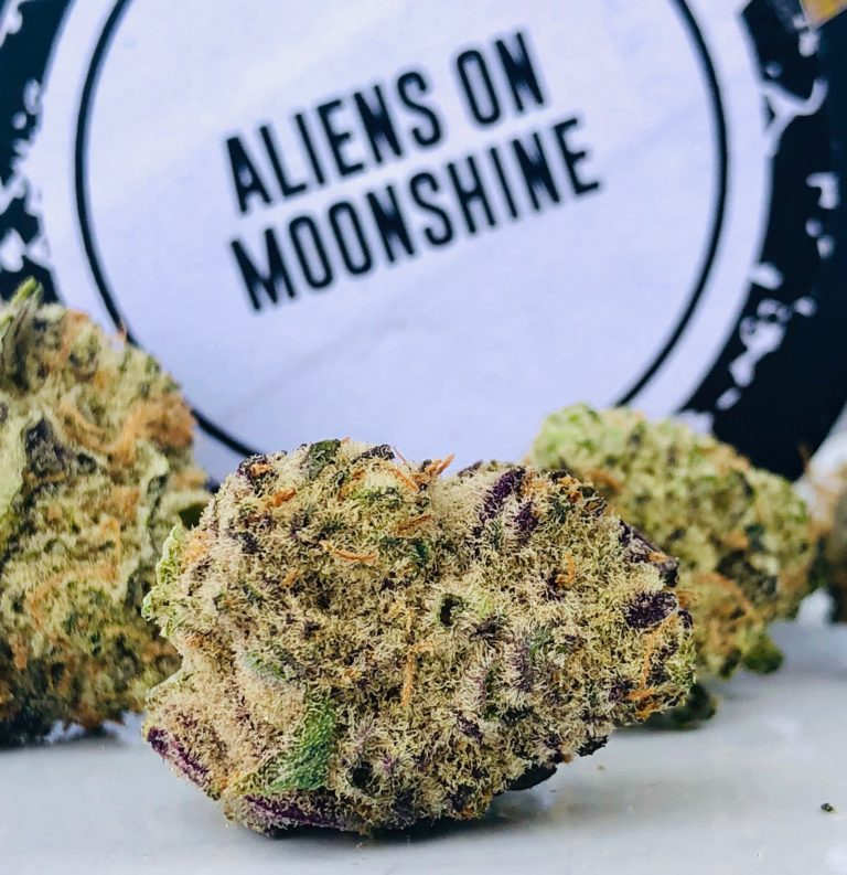 Aliens on Moonshine strain