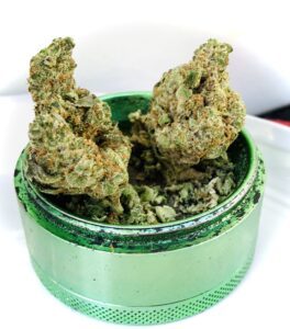 garlic cookies and birthday cake by grassroots cannabis the combo is called GARLIC CAKE