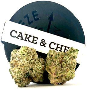 cake & chem strain buds