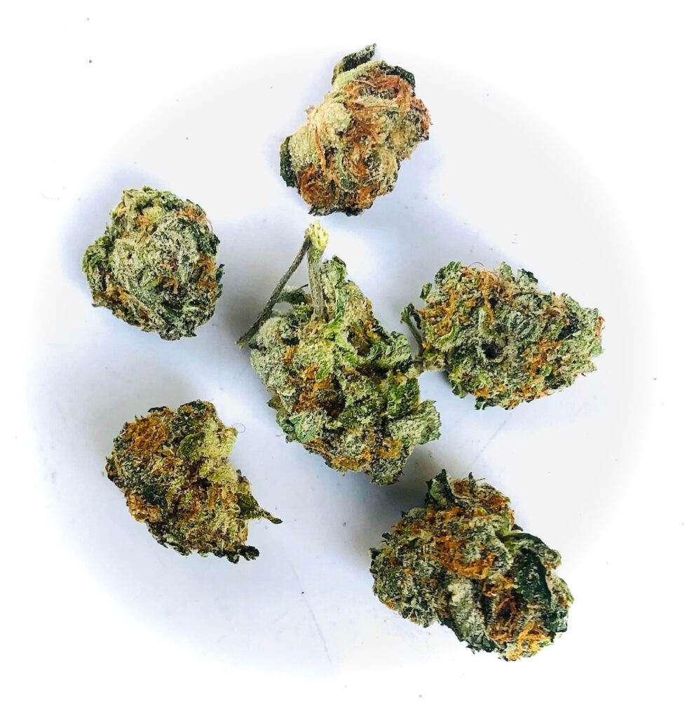 og kush breath buds by curio on white background